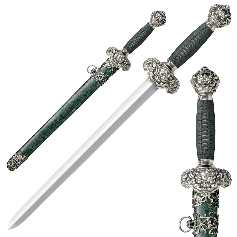 Cold Steel Jade Lion Dagger Sword 88rld Ninjaready